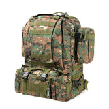 High Capacity Tactical Military Camoflauge Print Backpacks (9 Colors)