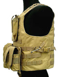 Outdoor Military Style Protective Combat Vest (3 colors)