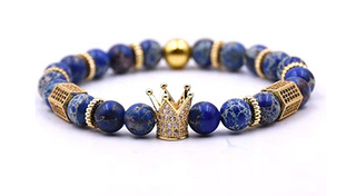 (Atlantis)Royal Blue King Crown Bracelet