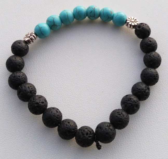 HANDCRAFTED Turquoise Chakra Bracelet