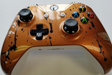 Custom Painted Xbox One S Controller - Cracked Copper - Game and Video