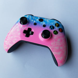 Xbox One S Controller Cotton Candy Theme - Game and Video