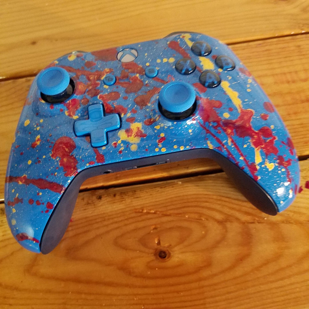 Xbox One S Controller-Blue on Blue