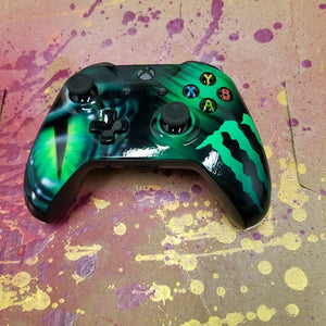 Xbox One s Controller-Green Energy Theme