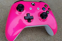 Custom Painted Xbox One S Controller - Bubble Gum Pink - Game and Video
