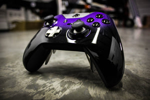 Custom Painted Microsoft Xbox One Elite Controller - Licorice Fade - Game and Video