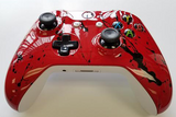 Custom Painted Xbox One S Controller - Bright Red Gloss - Game and Video
