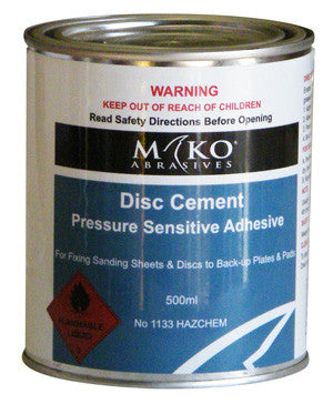 Disc Cement 500ml - flatlap.com.au