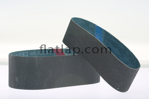 "Sanding Belt Silicon Carbide 6"" x 2.5"" - flatlap.com.au"