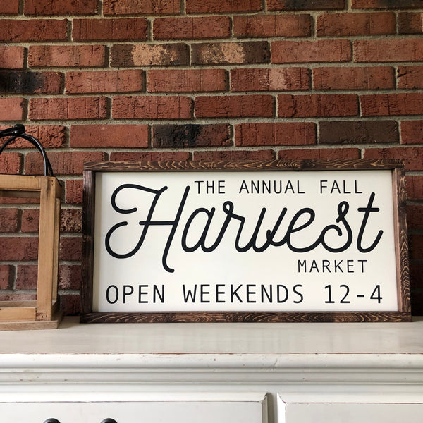 Annual Fall Harvest Market