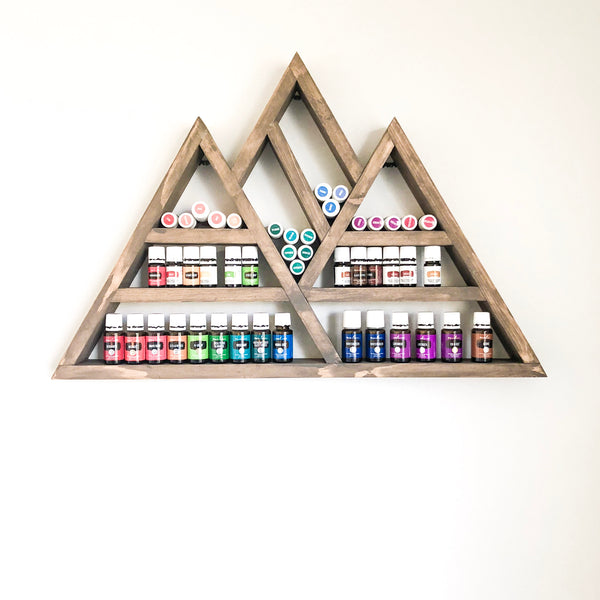 Essential oil mountain shelf