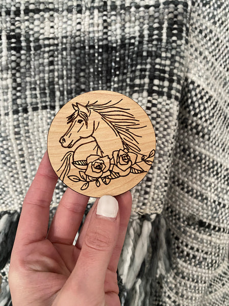 Horse donation magnet