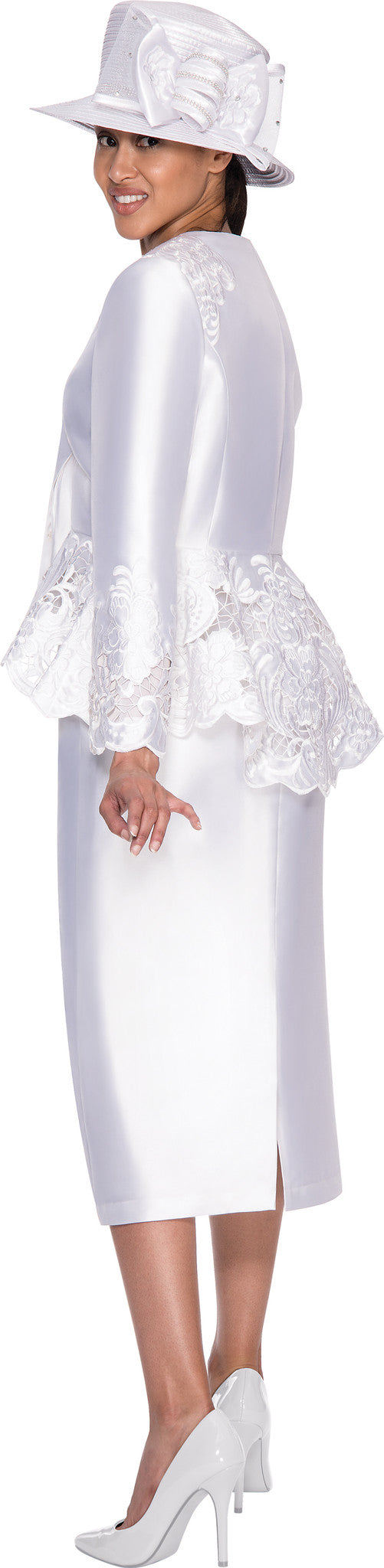 Gmi G5232 Womens Embroidered Jacket Church Suit Dress U For Less