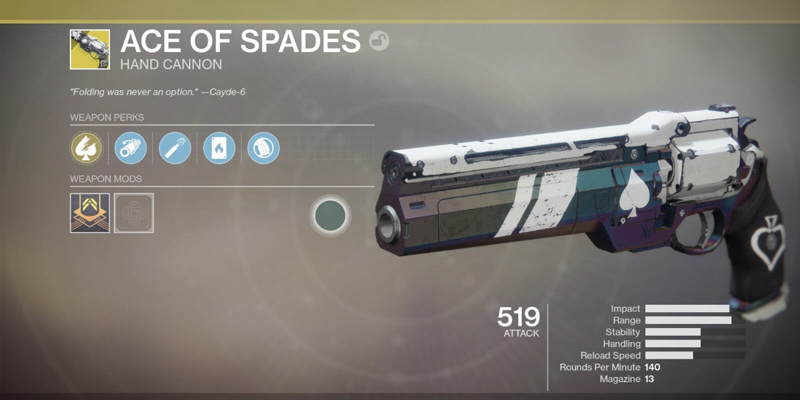 Ace of Spades Quest - DestinyCarry