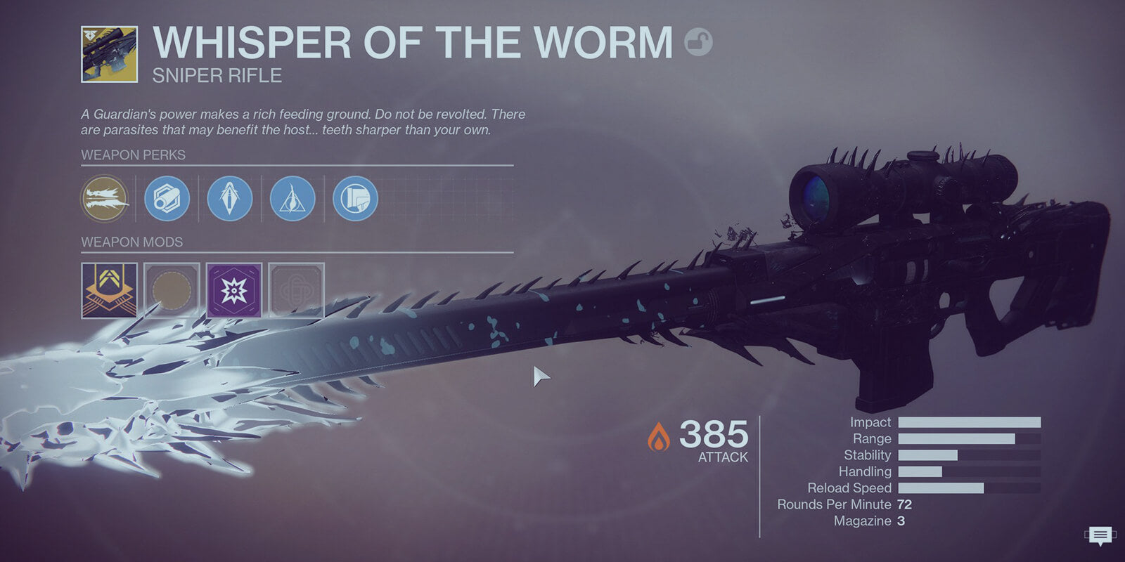 Whisper of the Worm Quest - DestinyCarry