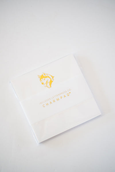 Husky Gold Foil Notepad