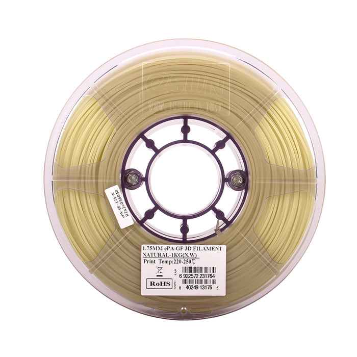 ESUN Filament eSUN ePA-GF Glass Fibre Reinforced Nylon 3D Filament 1.75mm 1kg