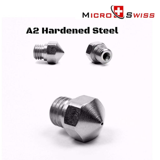 Micro Swiss 3D Printer & Accessories 0.6mm Micro Swiss A2 Hardened Steel Nozzle for MK10 All Metal Hotend