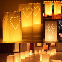 Paper Lantern Candle Bag Home Decor