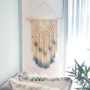 Neutral Wall Decor Boho Home Tapestry - modernbedspace
