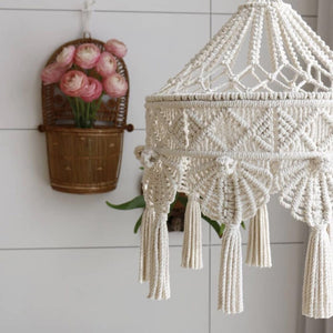Handwoven Bohemian Macrame Wall Hanging Tapestry - modernbedspace