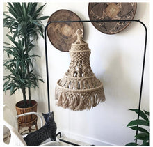 Lampshade Wall tapestry decoration Macrame Bohemia Handcraft Tassel Tapestry Background wall moroccan decor - modernbedspace
