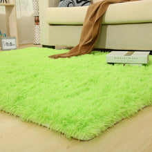 Colorful Solid Carpet Thicker Bathroom Rugs - modernbedspace