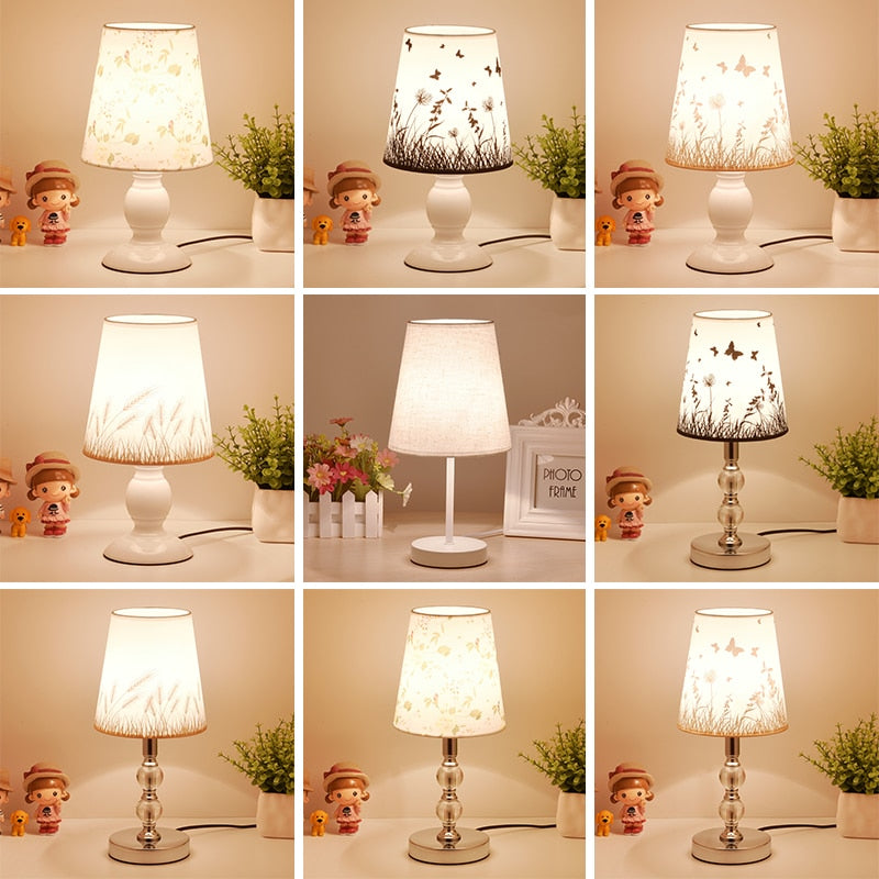 Crystal Table Lamps For Bedroom Room - modernbedspace