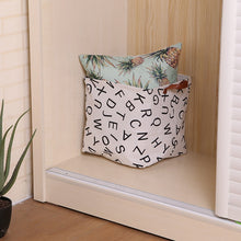 Cube Folding Laundry Storage Basket - modernbedspace