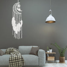 Dream Catcher Moon Mini Handmade Craft - modernbedspace