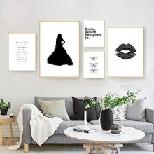 Minimalism Lip Wall Pictures Wall Art Decor - modernbedspace