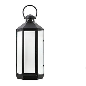 Nordic Minimalist Metal Lanterns House