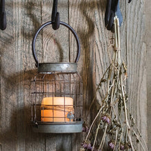 Retro Iron Candlestick Lantern Home Decor - modernbedspace