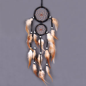 Vintage Home Decoration Feather Dream Catcher - modernbedspace