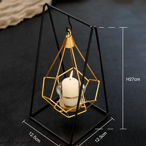 Novelty Nordic Metal Candle Holders