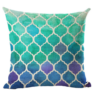 Moroccan Style Mosaic Series Cushion - modernbedspace