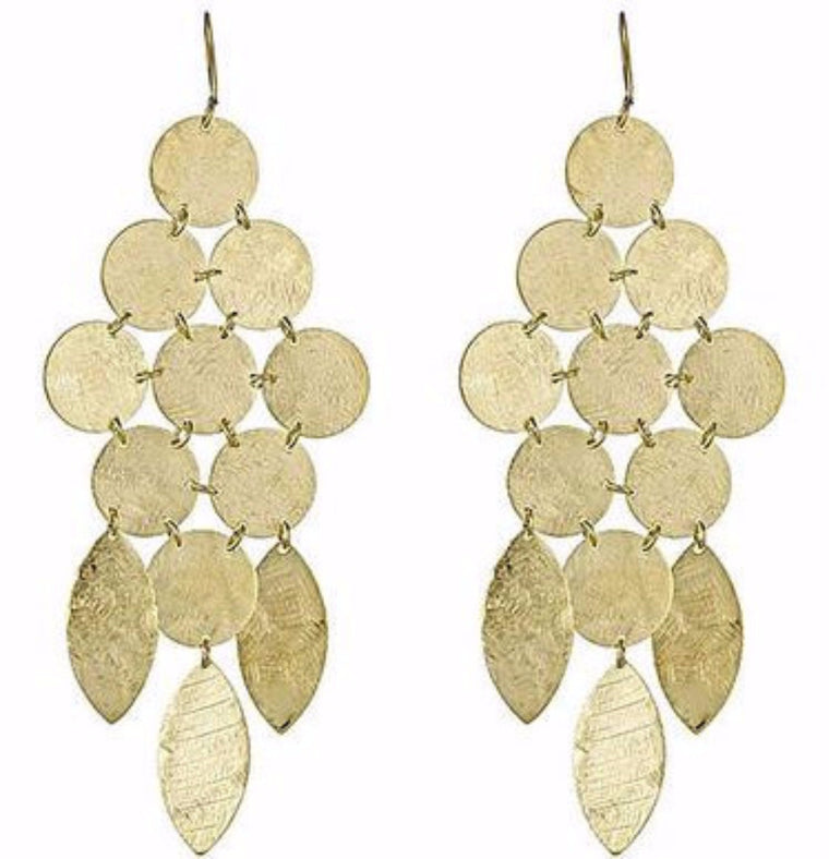 Gold Collection Chandelier Earring