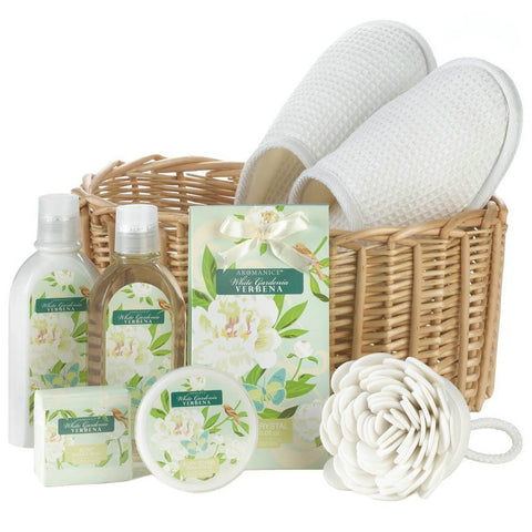 Aromanice White Gardenia Verbena Spa Gift Set