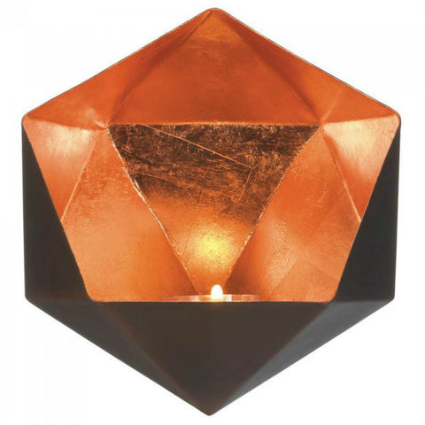 Geometric Wall Sconce - Copper