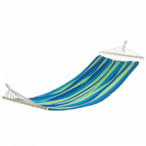 Bahama Blue Striped Single Hammock