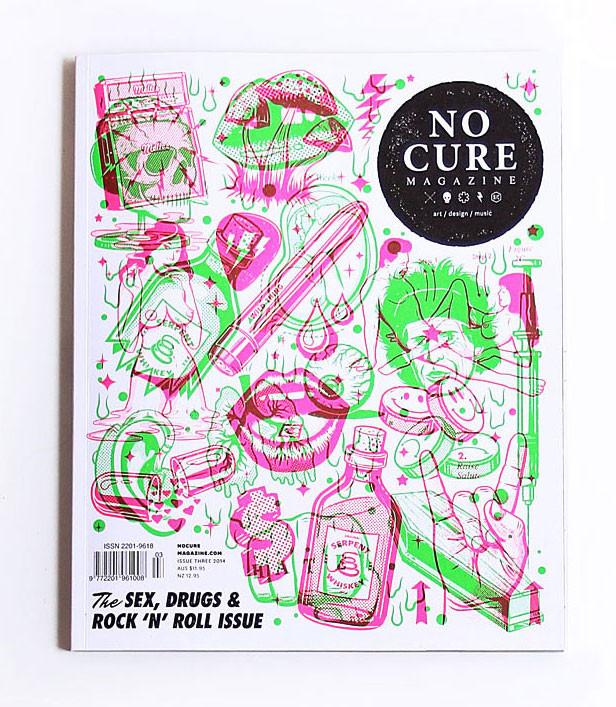 NO CURE MAGAZINE , ISSUE THREE MARCH 2014