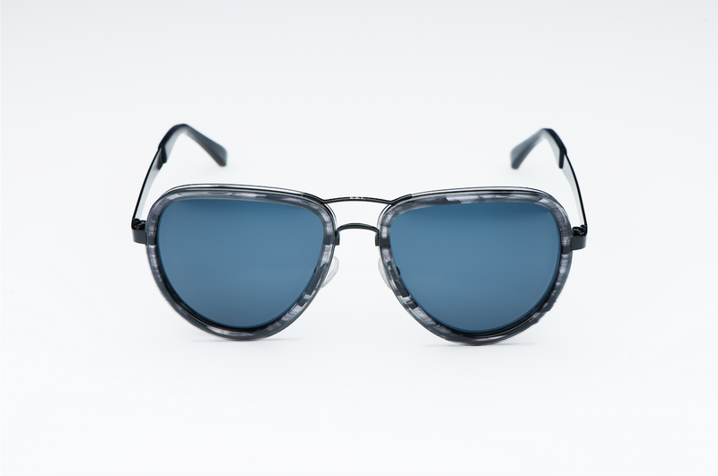 Curtiss Black Out - Aviator Sunglasses - EstablishedStore.com
