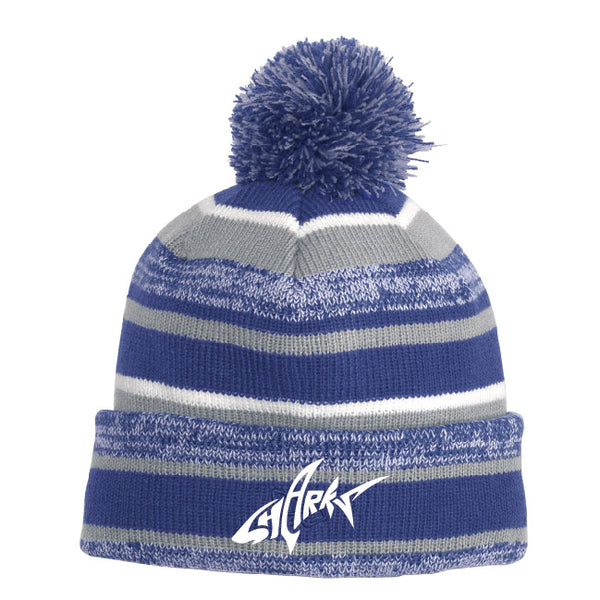 NWAA Striped Beanie Hat