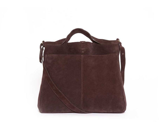 CHOCOLATE SHOPPER DAY SUEDE