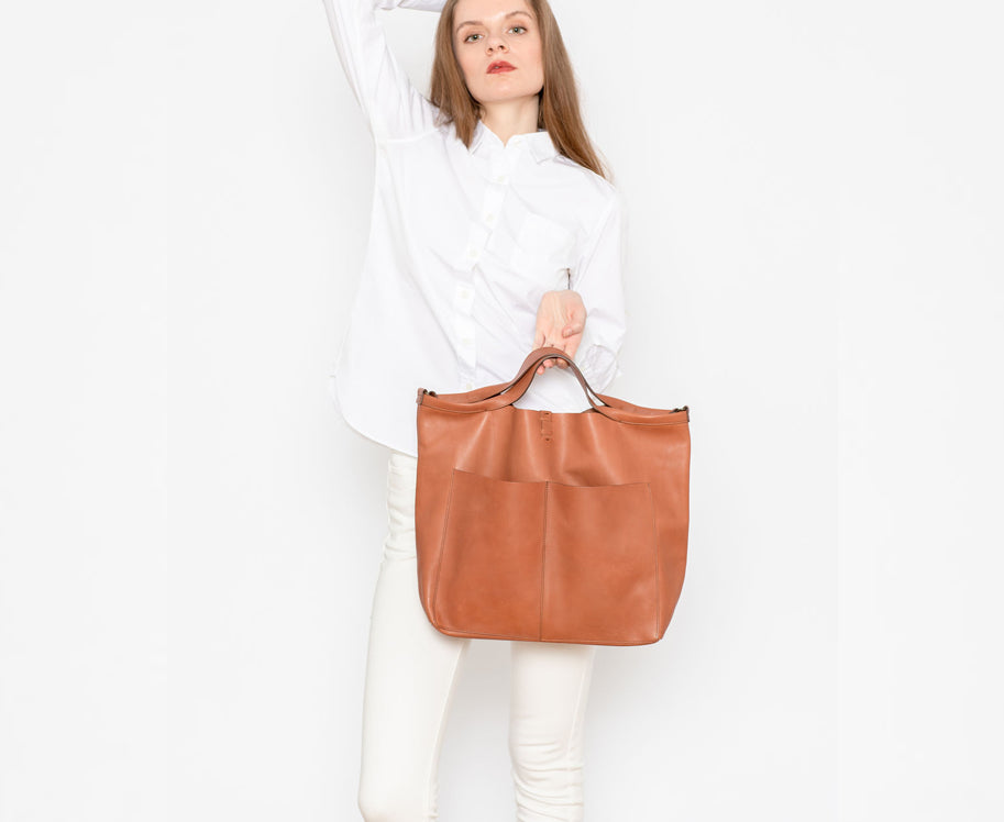 DESERT ROSE SHOPPER FEATHER