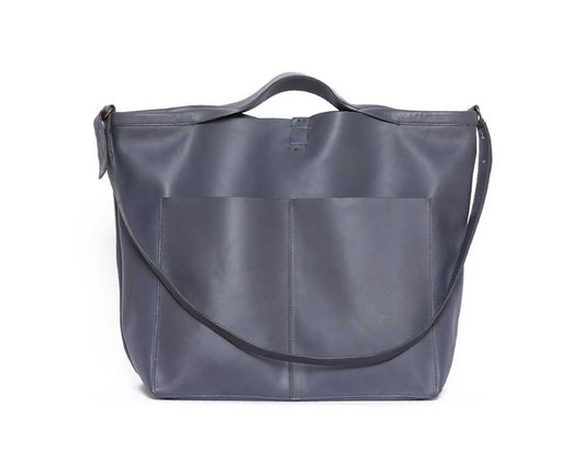 SLATE SHOPPER FEATURING FEATHER LEATHER