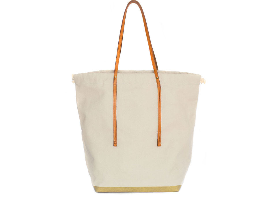 DRAWSTRING SCHLEPPER TALL BONE