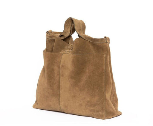 DARK GOLD SHOPPER DAY SUEDE