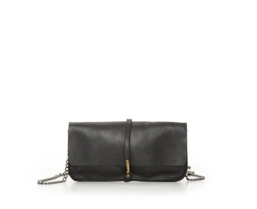 JET BLACK WIRE CLUTCH W/ CHAIN