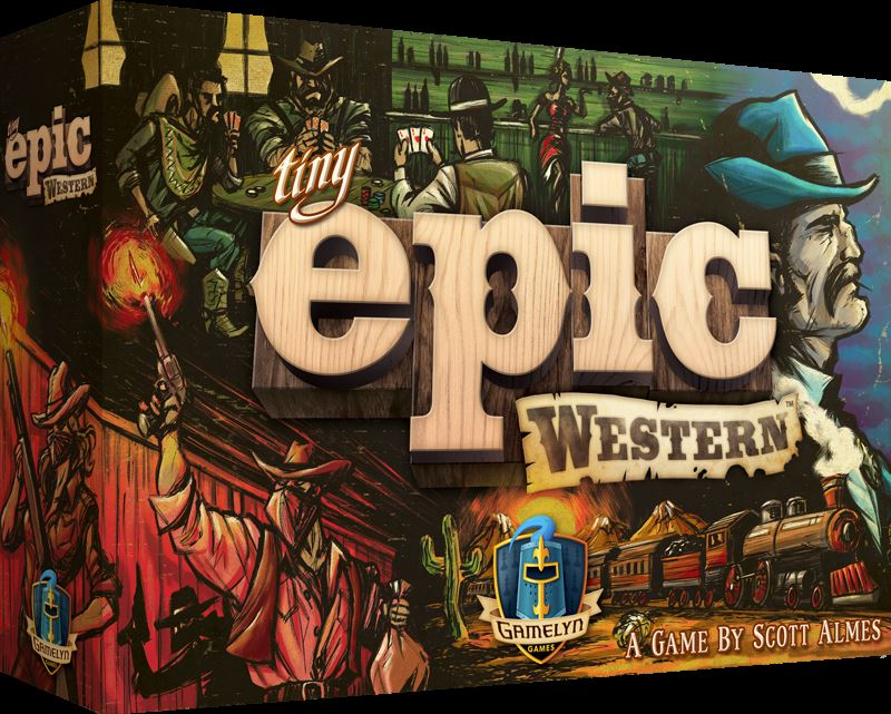 Gamelyn Games, Llc - Tiny Epic Western